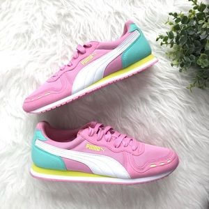 Puma Shoes - Puma Pink Bubblegum Sneakers